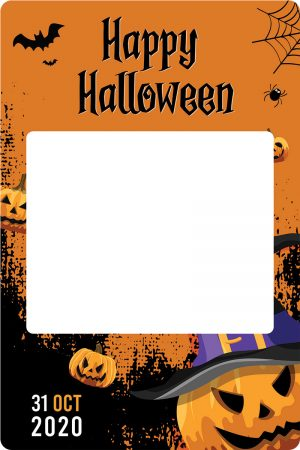 cadre photobooth halloween evenement animation
