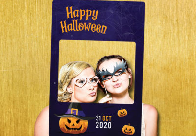 Photobooth événement halloween animation