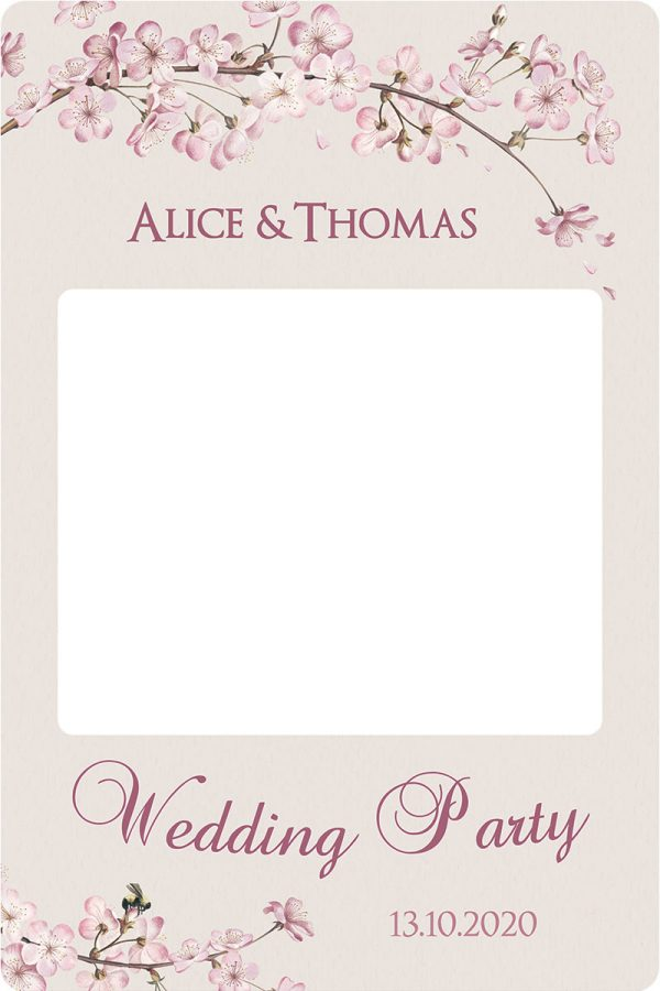 creation-cadre-photobooth-mariage-personnalise-cherry-blossom