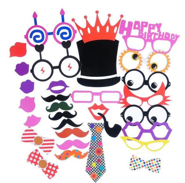 kit accessoires animation photobooth 31 pieces
