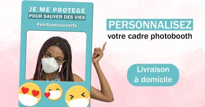 cadre photobooth support communication prevention covid coronavirus