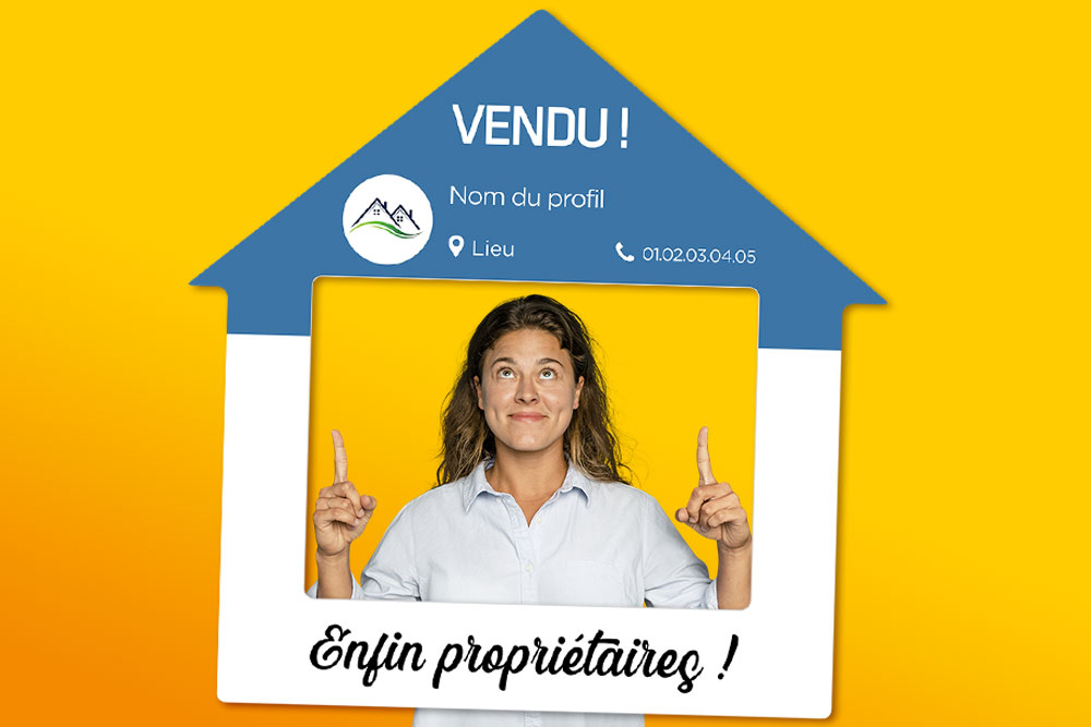 Cadre-photobooth-instagram-forme-maison-support-publicitaire-agence-immobiliere